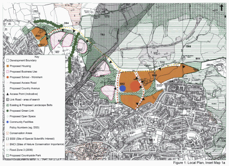 Figure 1: Local Plan, Inset Map 1a